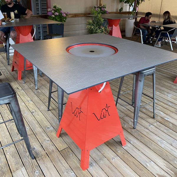 Magma Square - BBQ Table 1