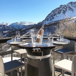 Fusion High - Outdoor Table Grill 1